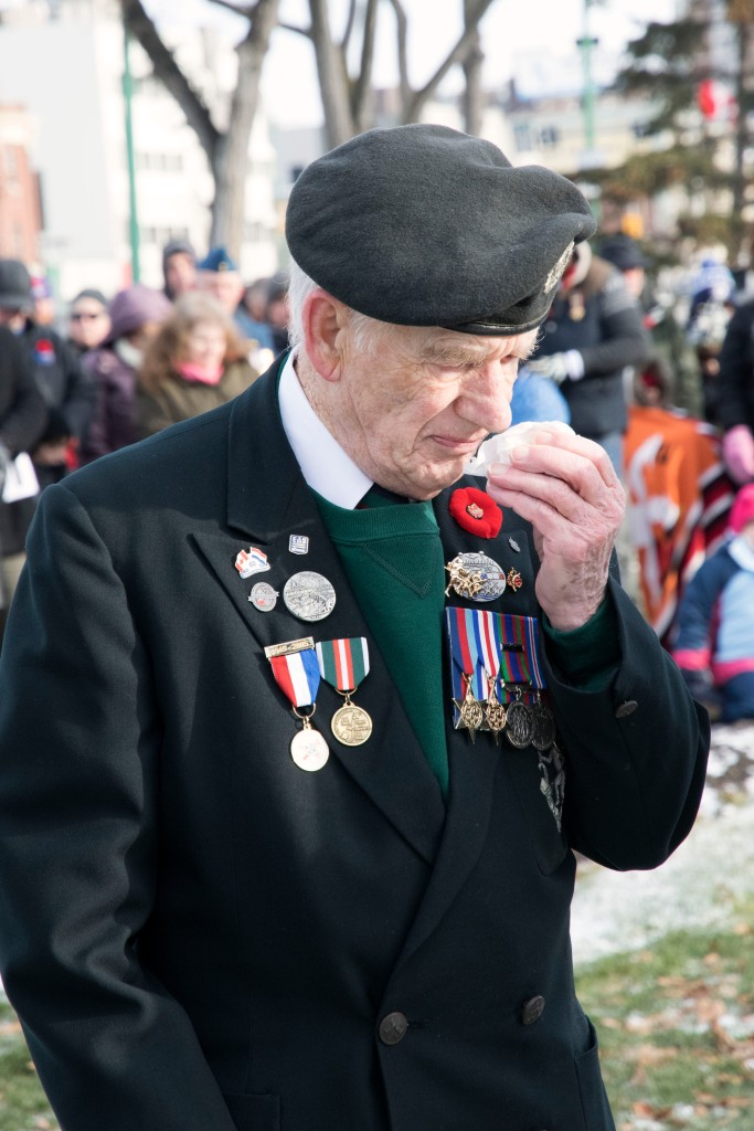 A Second World War Veteran and member of The Royal Winnipeg Rifles during the service.